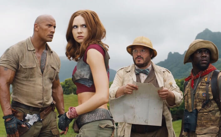 Trailer Of Jumanji: Welcome To The Jungle