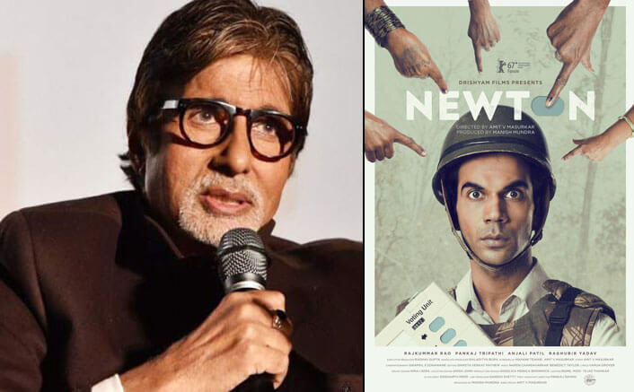 'Newton' an eye opener: Big B
