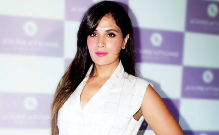 People assume I'm angry by nature, says Richa Chadha