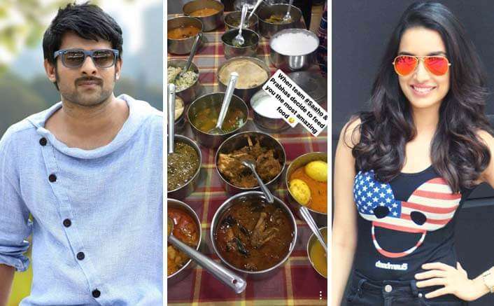 Prabhas Treats His Saaho Co-Star Shraddha Kapoor To A Hyderabadi Feast