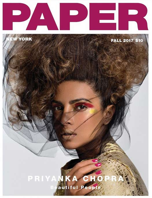 Priyanka's Dramactic Paper Magazine Cover Is Insanely Perfect