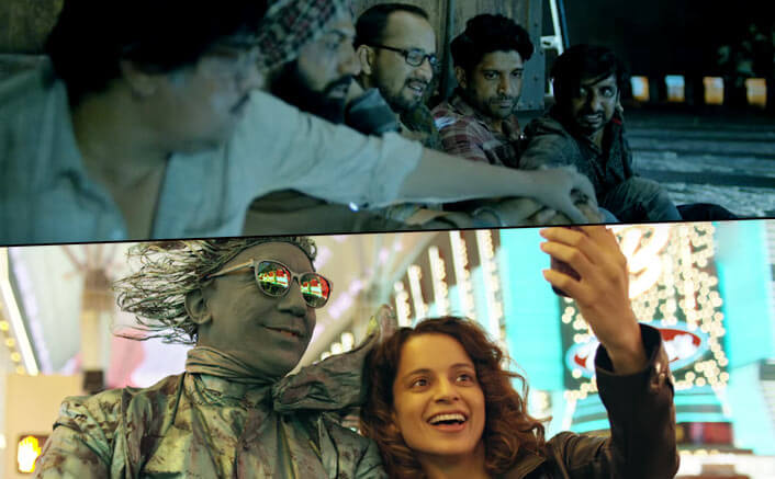 Simran & Lucknow Central Box Office