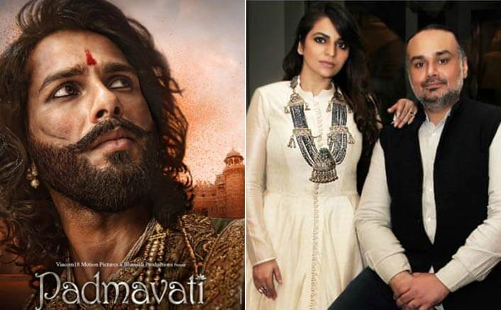 Shahid Kapoor's costumes for Padmavati explains Rimple and Harpreet Narula