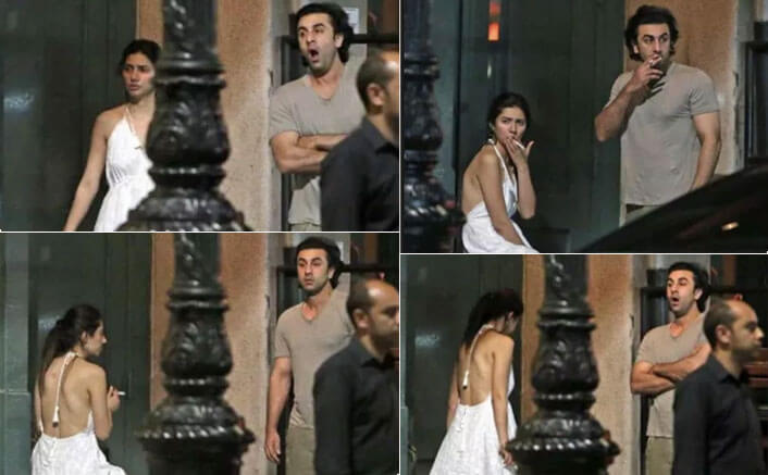 TRENDING!!! Ranbir Kapoor And Mahira Khan Caught Candid In New York City, What's Cooking?