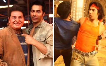 Varun Dhawan Serves As A Feast For Your Eyes In The Behind The Scene Footage From Judwaa 2