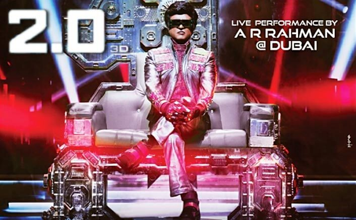 2.0 New Poster Alert! Rajinikanth As Chitti Robot Will Leave You Thrilled