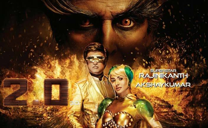 2.0 New Poster: Rajinikanth, Amy & Akshay Will Make You Super Excited