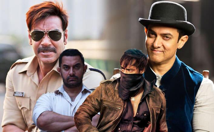 Aamir Khan VS Ajay Devgn: 5 Years' Report Card! Who Leads Who In The Opening Day Collections?