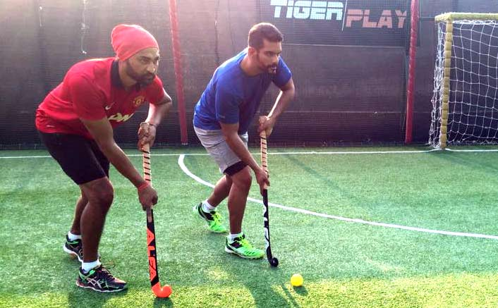 Angad starts training for Sandeep Singh biopic