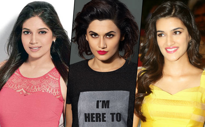 Bhumi Pednekar, Kriti Sanon Or Taapsee Pannu: Who Will Be Our Future Superstar?