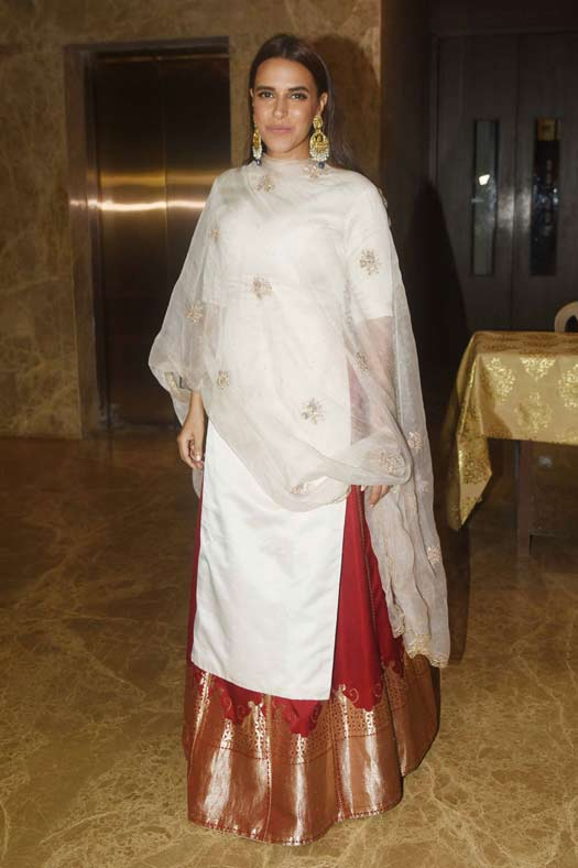 Neha Dhupia At Ramesh Taurani's Diwali Party