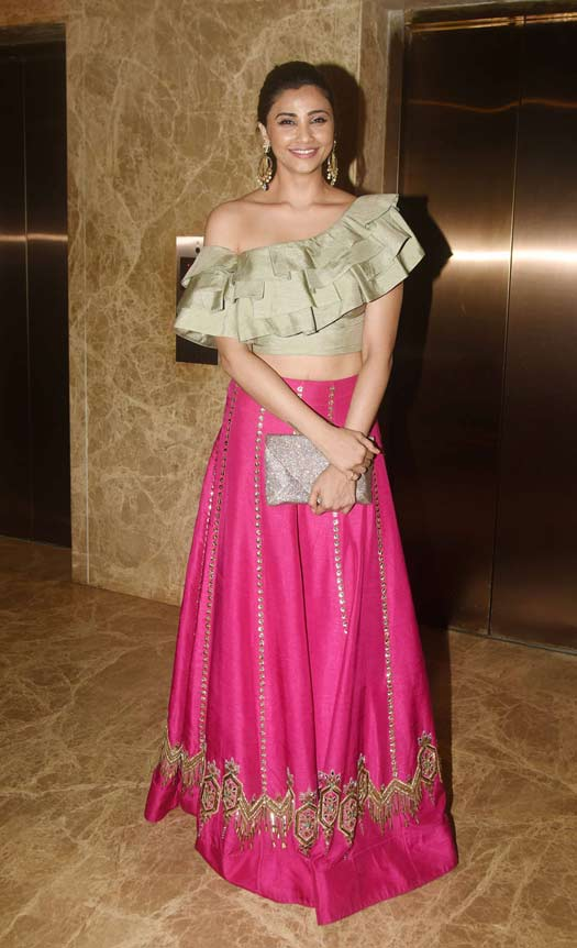 Daisy Shah At Ramesh Taurani's Diwali Party