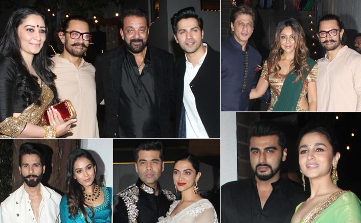 Bollywood Celebrities Were Party Hopping On Diwali! Read To Know More