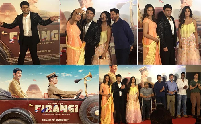 Kapil Sharma gets amazed by British lifestyle in 'Firangi's new song