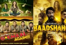 Golmaal Again Beats Baadshaho | Becomes 9th Highest Grossing Film Of 2017