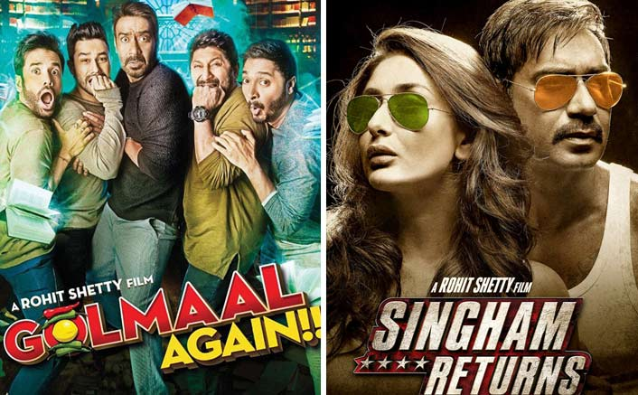 Golmaal Again Beats Singham Returns To Record Ajay Devgn's Highest Opening Day