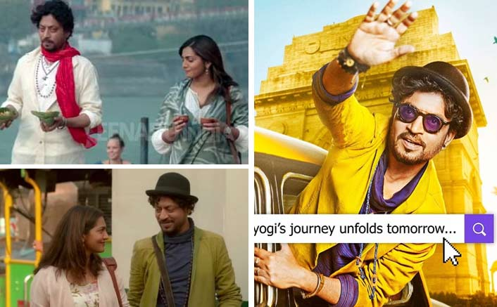 Irrfan Khan's looks in 'Qarib Qarib Singlle' is inspired by his son!