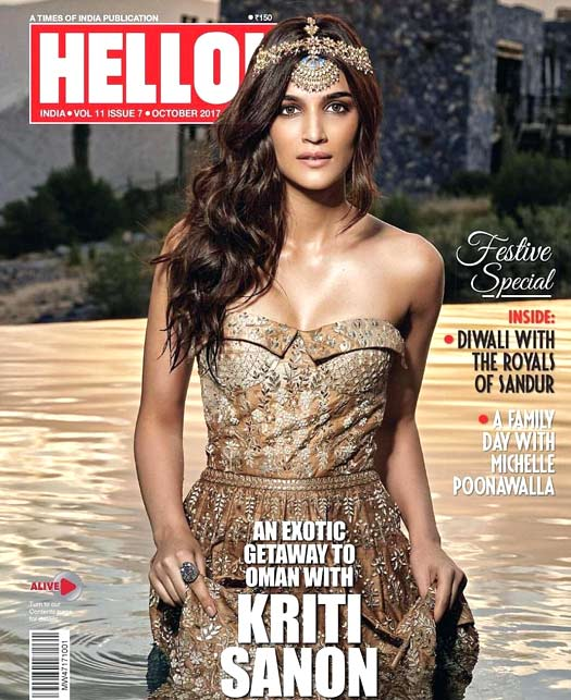 Kriti Sanon shares BTS video from a Magazine photoshoot