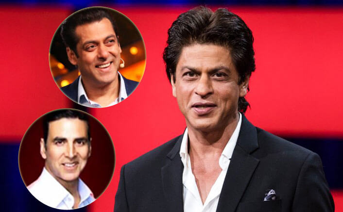 Not competing with Salman, Akshay: SRK
