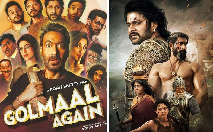 Will Golmaal Again Repeat The Baahubali 2 History At The Box Office? 100 Crores In 3 Days!
