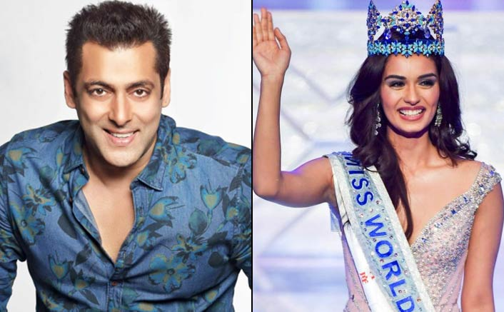 Is Salman Khan launching Miss World Manushi Chhillar in Bollywood?