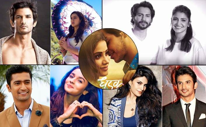 5 Fresh Bollywood Jodi's that will set screens on fire in 2018