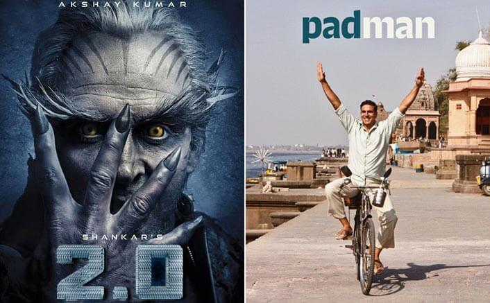 Akshay Kumar Finally Reveals Why Padman & 2.0 Will Never Clash