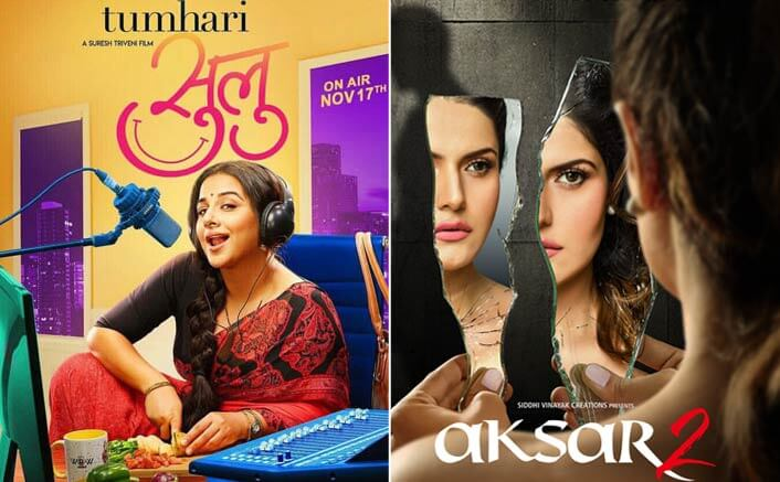 Box Office Predictions: Vidya Balan's Tumhari Sulu and Zareen Khan's Aksar 2