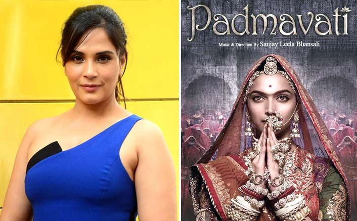 A film can't ruin our culture: Richa on 'Padmavati'