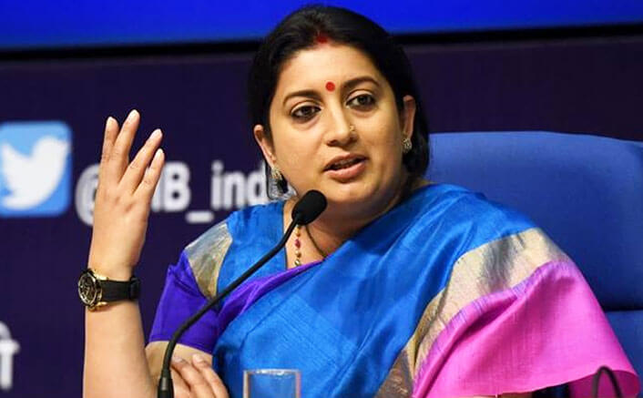 I was rejected as not fit for TV: Smriti Irani