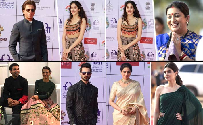IFFI Fashion: Stars Rule The Red Carpet At The Film Festival