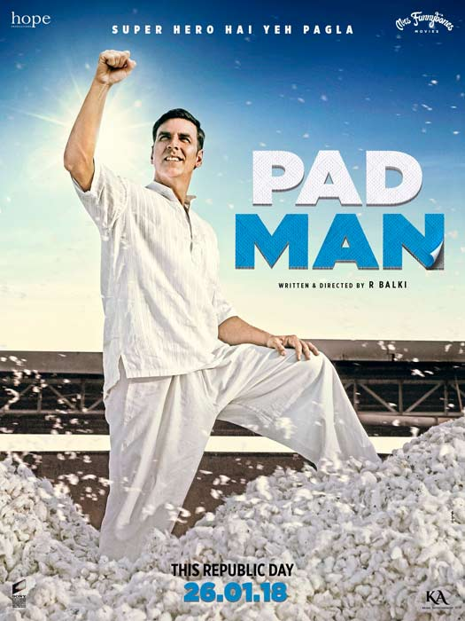 Padman New Poster: Akshay Kumar Shines Symbolising The Subject To Be Tackled In The Film