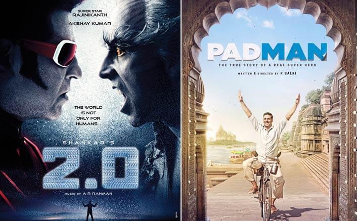 What? Rajinikanth's 2.0 to clash with Akshay's Padman