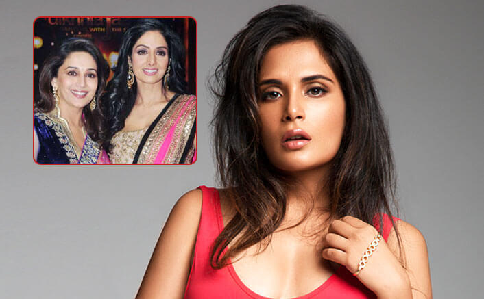 Richa Chadha draws inspiration from Sridevi and Madhuri Dixit?