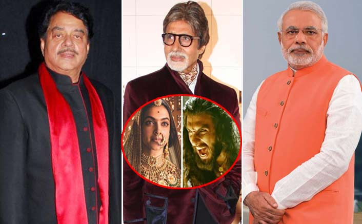 Shatrughan Sinha questions Modi, Big B for silence on 'Padmavati'