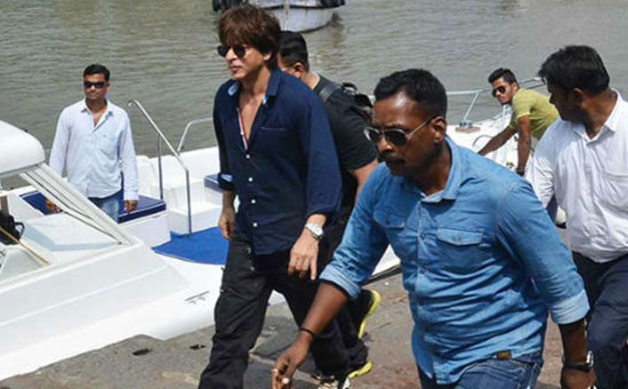 Shah Rukh Khan celebrates Children's Day on set