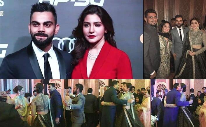 Lovebirds Virat and Anushka's PDA and dance will melt your heart