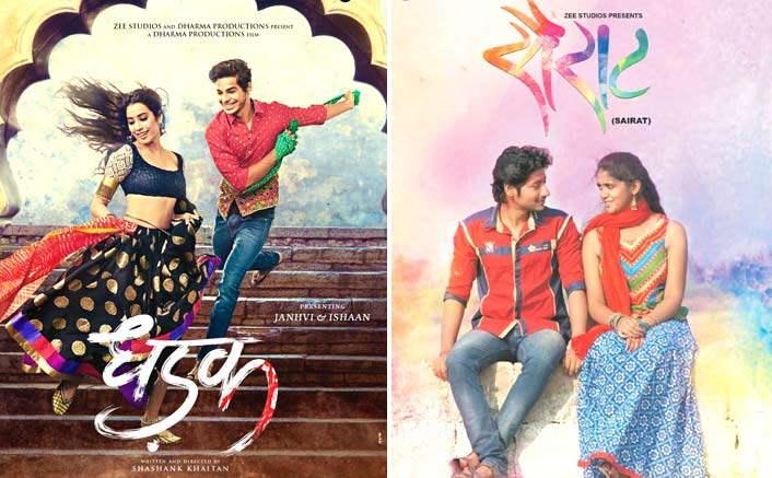 Vote Now Sairat Or Dhadak Which Film Has A Better Poster