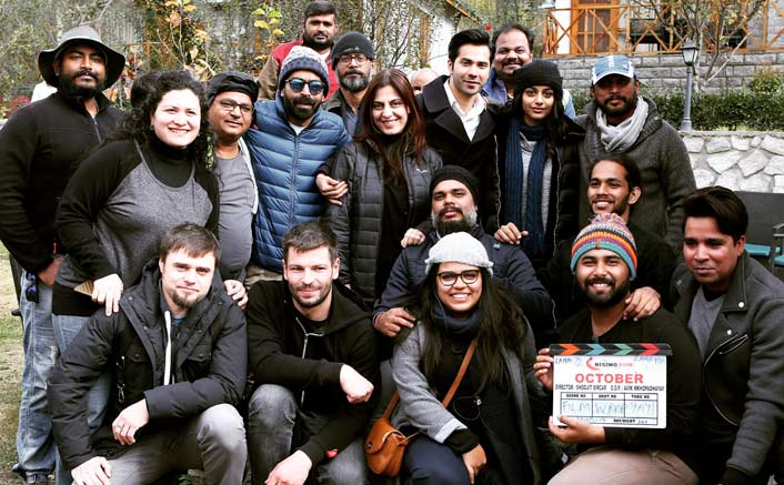 It's a wrap for Shoojit Sircar's October starring Varun Dhawan & newbie Banita Sandhu