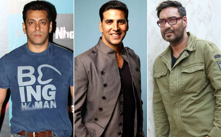 2017 sees Salman Khan, Akshay Kumar and Ajay Devgn on a record breaking spree