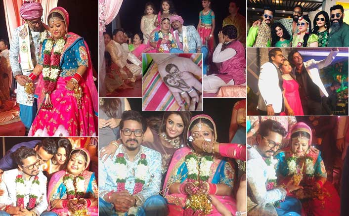Bharti Singh And Harsh Limbachiyaa Tie The Knot, Anita Hassanandani & Sunil Grover Mark Their Presence
