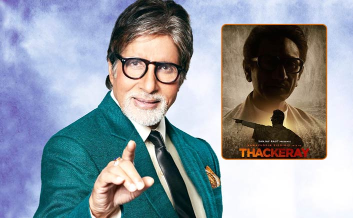 "Big B On Thackrey The Film: ""I Will Be More Than Happy To Be A Part Of The Making Of The Film."""