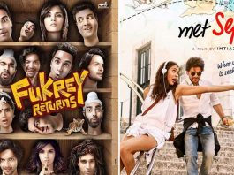 Box Office - Fukrey Returns aims to go past Jab Harry Met Sejal lifetime by Sunday