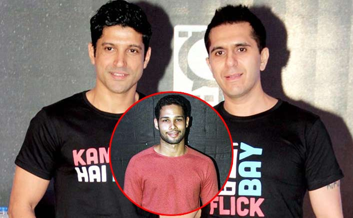 Farhan Akhtar and Ritesh Sidhwani introduce Siddhant Chaturvedi in Gully Boy