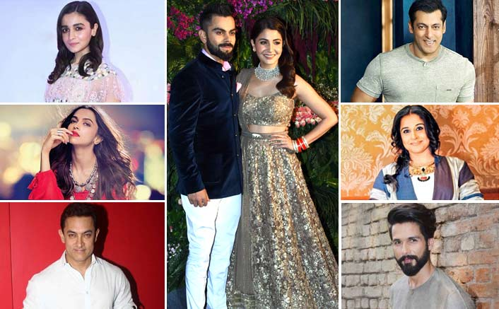Our Favorite Celebs We Missed Last Night At Virushka's Lavish Reception