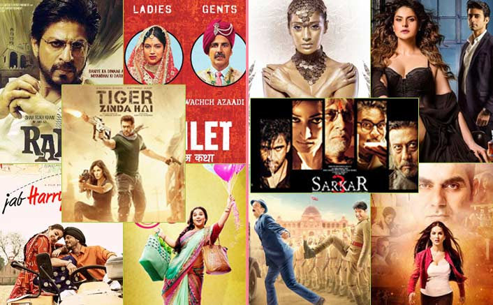 Good & Bad Posters Of 2017: From Tiger Zinda Hai To Aksar 2, A Complete Mixture