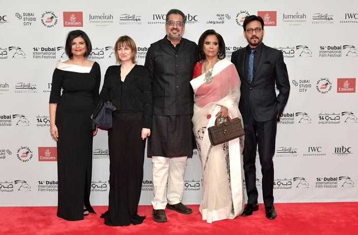 Irrfan Khan At Dubai International Film Festival