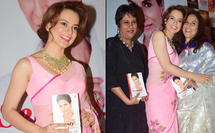 "Kangana Ranaut Says, ""Will Write A Book When I Am Ready"""