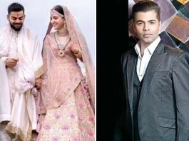 KJo can't stop obssessing about Anushka's wedding photographs