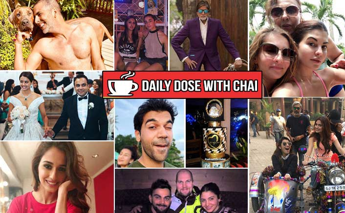Koimoi's Daily Dose With Chai: Salman Khan's TZH Birthday Cake, Virushka's Honeymoon Pic& More!